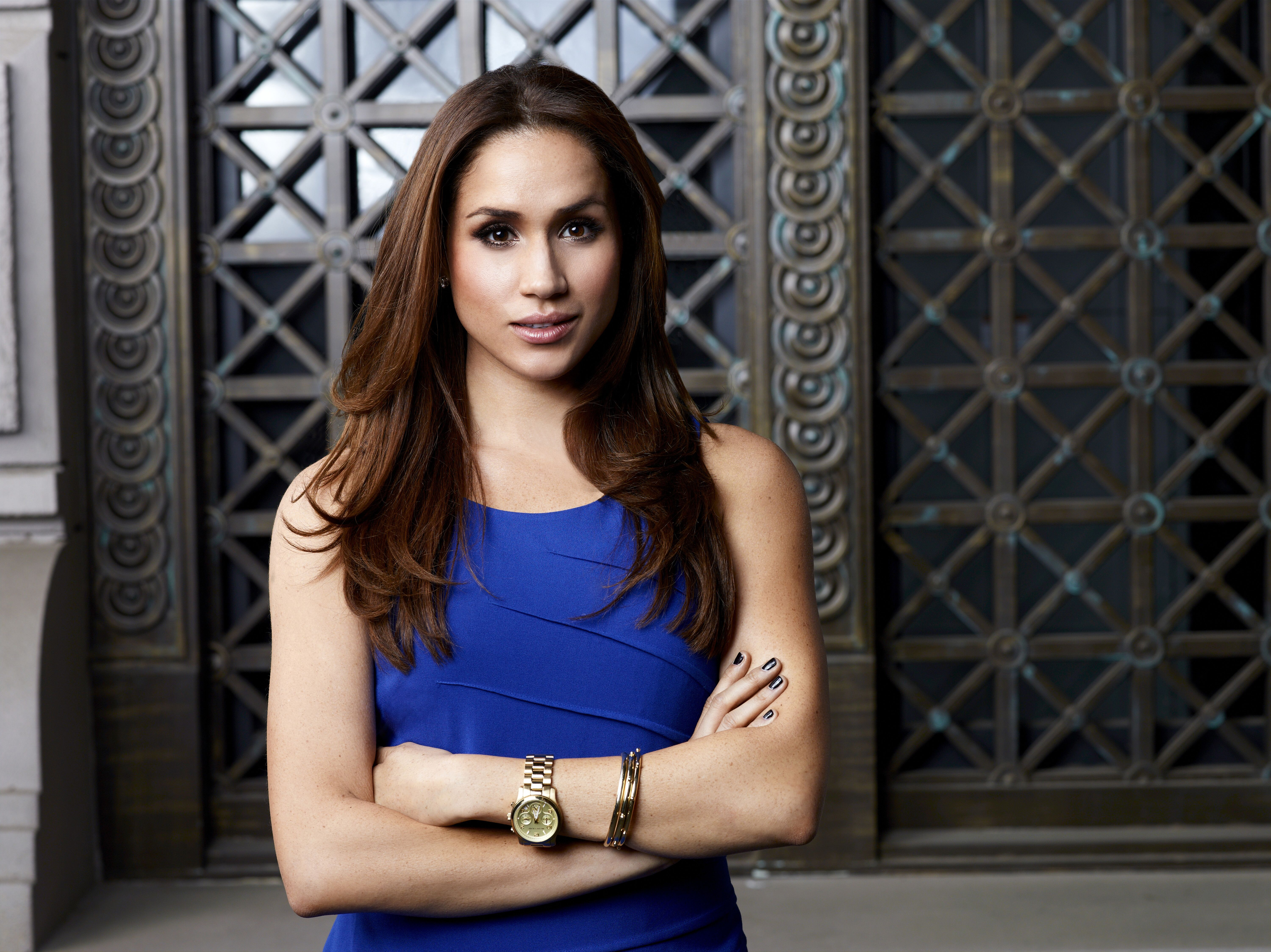 Meghan Markle dans le rôle de Rachel Zane | Getty Images / Global Images Ukraine