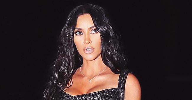 Kim Kardashian Wears a Snakeskin-Printed Bikini in Her Latest Summer Pic