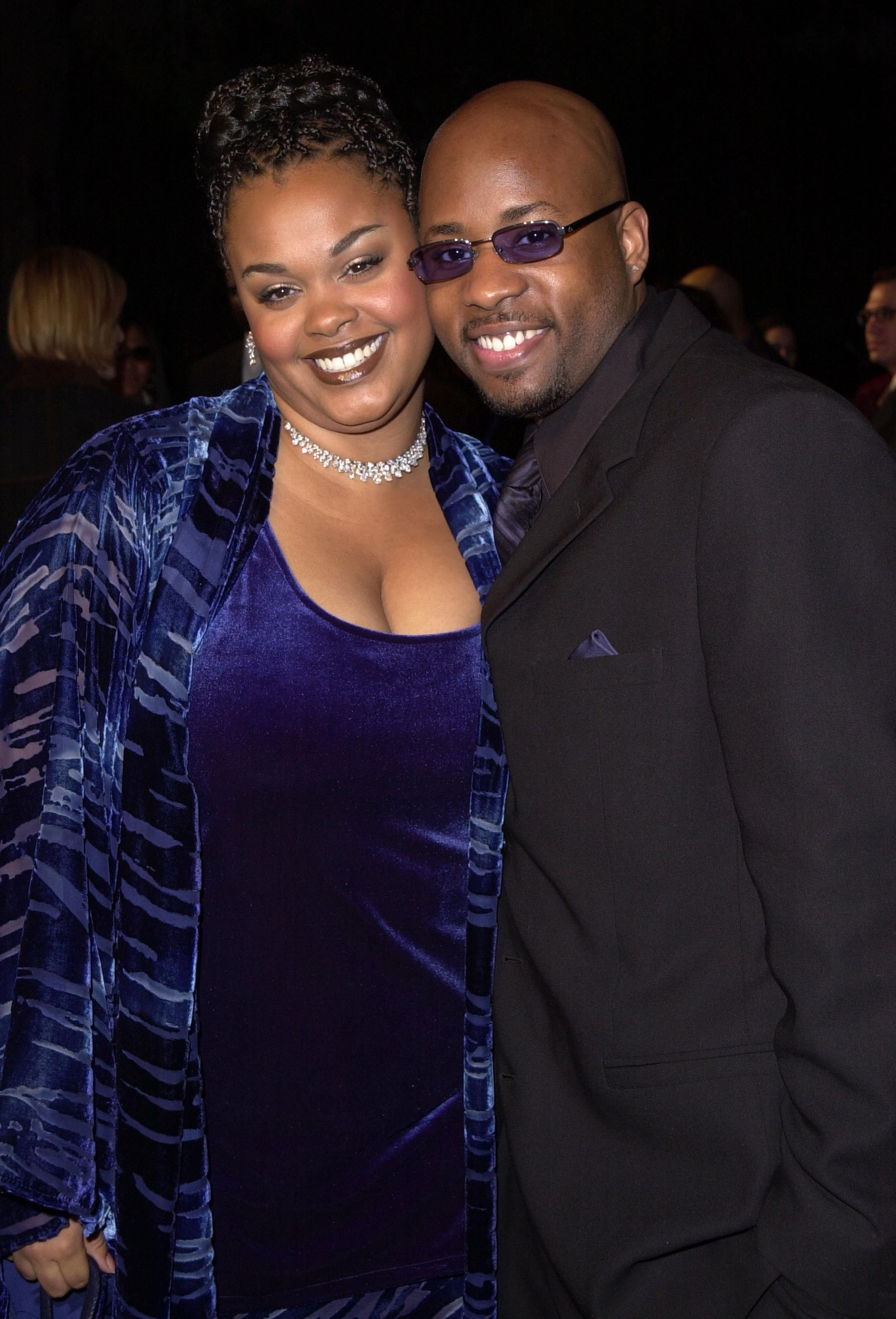 Jill Scott & husband Lyzel Williams at the 32nd Annual NAACP Image Awards in 2001 | Source: Getty Images