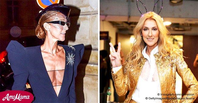 Les fans doutent de la santé de Céline Dion après la révélation d'une photo maigre de la star dans un accoutrement étrange