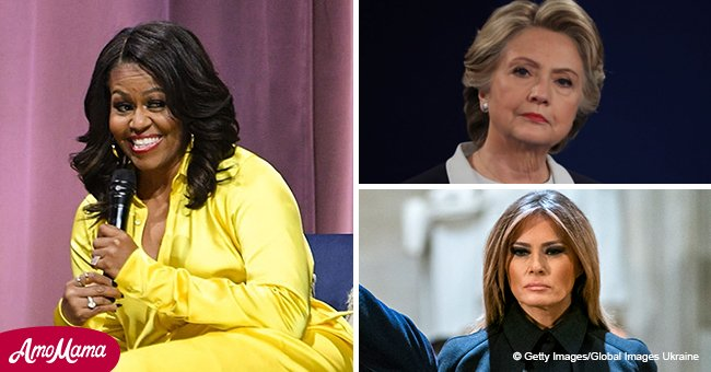 Michelle Obama is voted the woman most admired by Americans this year, according to Gallup poll