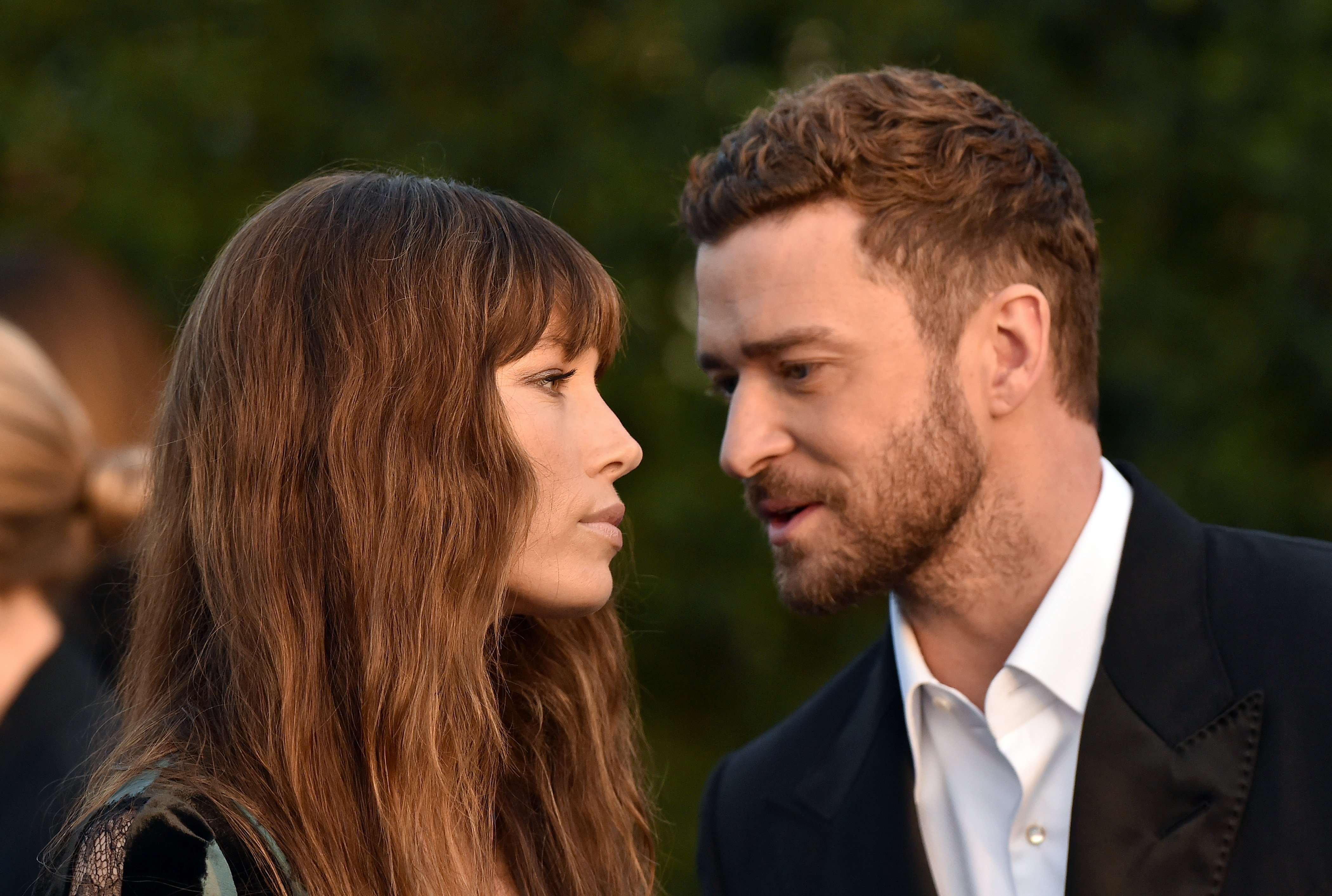 Justin Timberlake and Jessica Biel pictured at The 22nd Annual Critics' Choice Awards at Barker Hangar, 2016, Santa Monica, California.   Photo: Getty Images