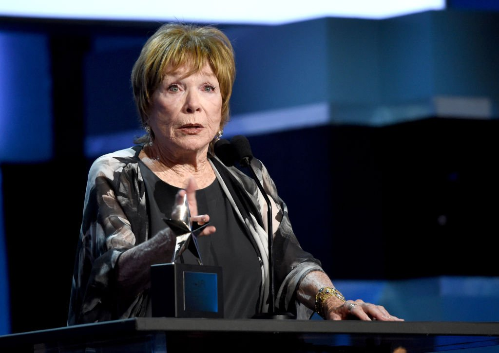 Shirley MacLaine speaks onstage at the American Film Institute's 46th Life Achievement Award Gala Tribute to George Clooney at Dolby Theatre on June 7, 2018 | Photo: GettyImages
