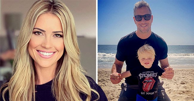 Ant Anstead Looks Radiant with Son Hudson on the Beach Months after Wife Christina's Divorce Filing
