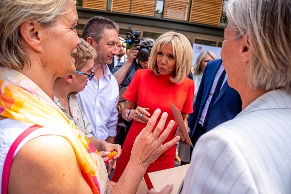 Brigitte Macron lors de l'inauguration de la Maison de répit le 18 juin 2019 à Lyon, France. |Photo : Getty Images
