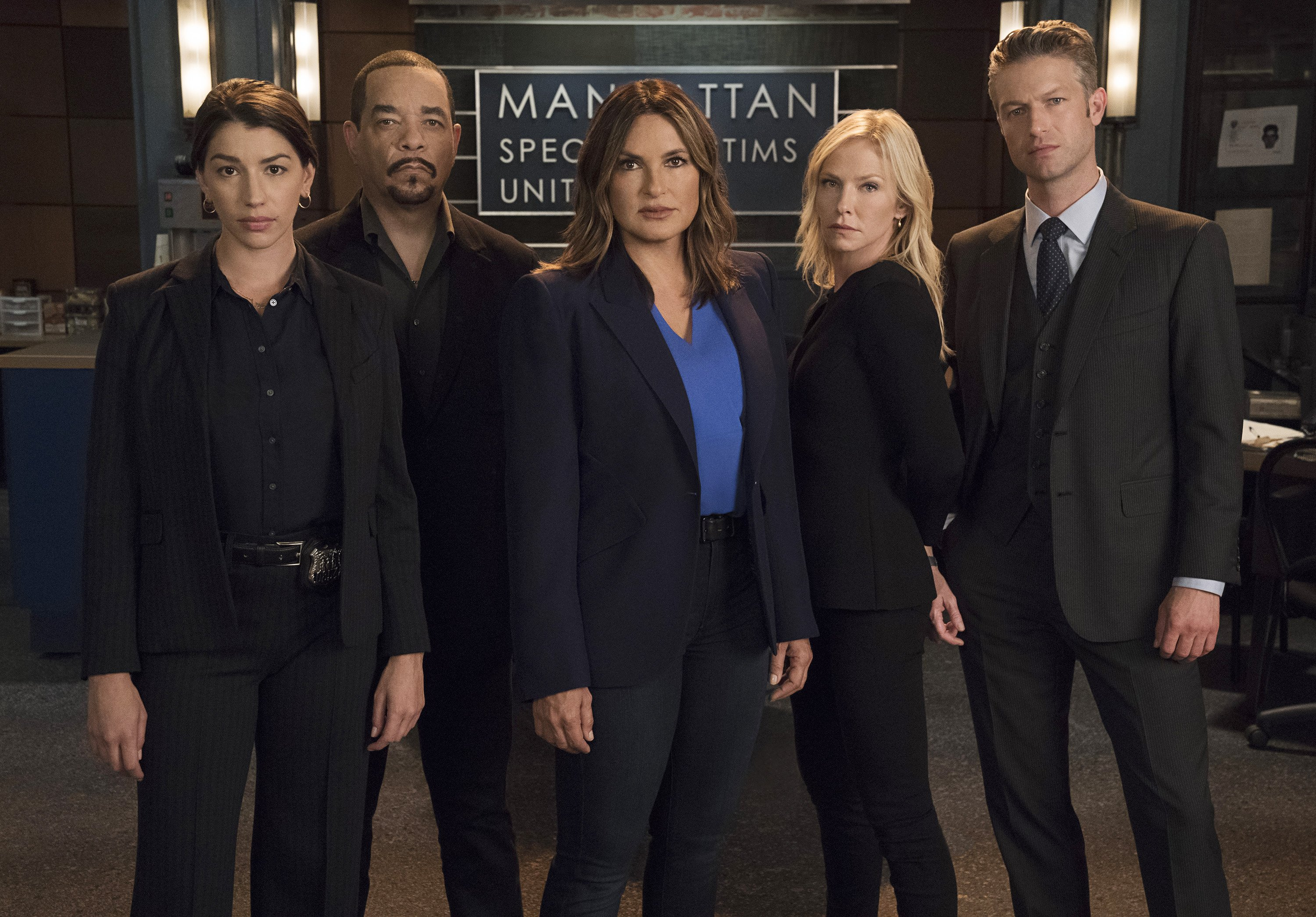 The cast of Law & Order is busy preparing for Season 22 of the successful police legal drama. | Photo: Getty Images.