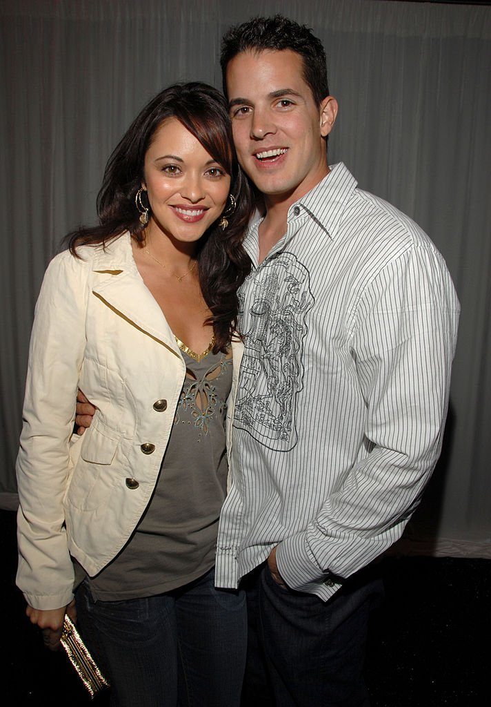 Marisa Ramirez and husband Nathan Lavezoli during L.A. Lakers 3rd Annual Casino Night and Poker Invitational | Getty Images
