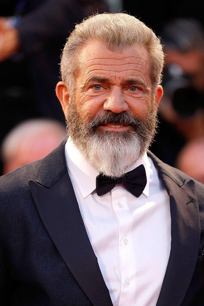 Mel Gibson asiste al estreno de 'Hacksaw Ridge' durante el 73º Festival de Cine de Venecia, en Sala Grande, el 4 de septiembre de 2016 en Venecia, Italia. | Imagen: Getty Images