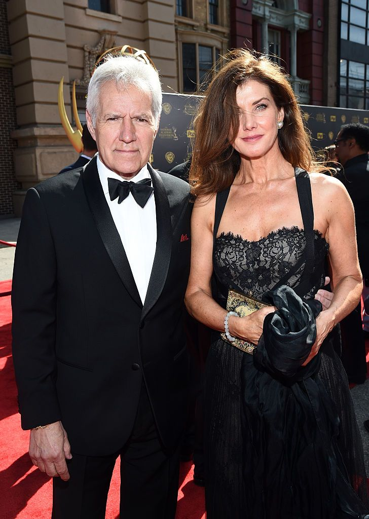 Alex Trebek and Jean Currivan Trebek at the 42nd Annual Daytime Emmy Awards on April 26, 2015, in Burbank, California | Photo: Michael Buckner/Getty Images