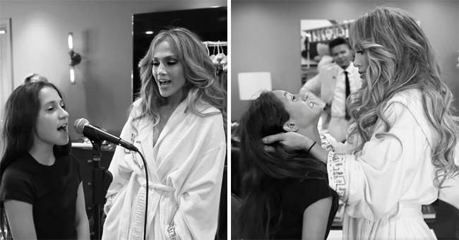 Emme, la hija de Jennifer López, se abre sobre su video viral cantando
