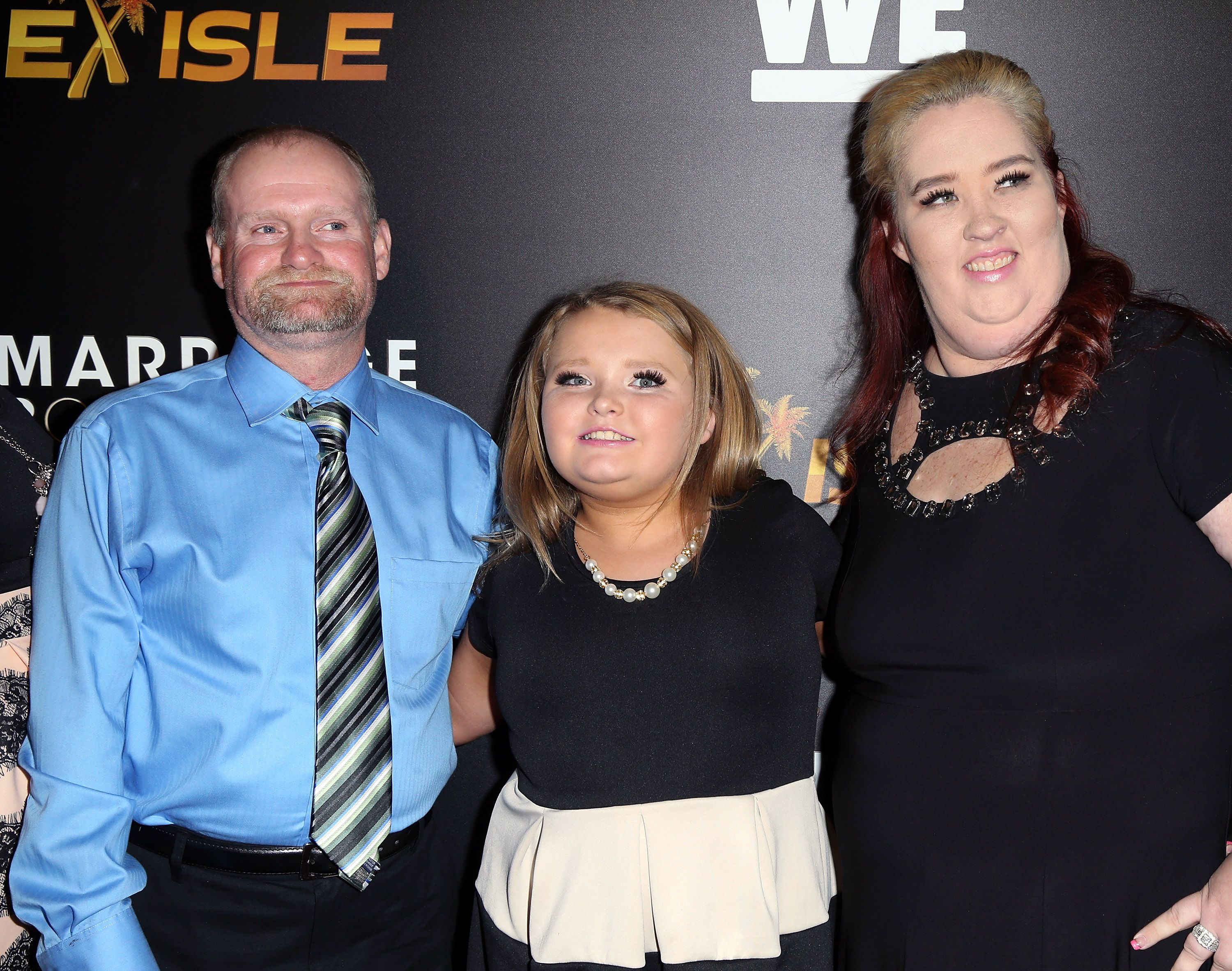"""Mama June, Honey Boo Boo and Sugar Bear at the premiere of """"Marriage Boot Camp"""" Reality Stars on November 19, 2015 