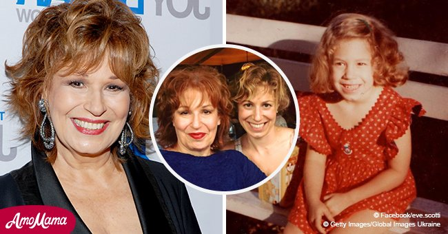 Joy Behar's daughter is 48 years old now and she looks like her mother's twin