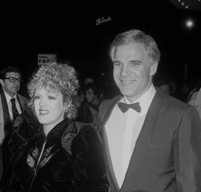 Bernadette Peters with Steve Martin attending a formas event. | Source: Getty Images