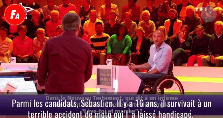 """Un candidat sur le plateau de l'émission """"Les douzes coups de midi"""".   Photo : vidéo femmeactuelle TF1"""