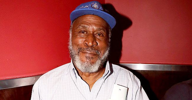 John Amos' Daughter Shannon Looks like a Shaman as She Paints Her Face & Wears Large Bracelets