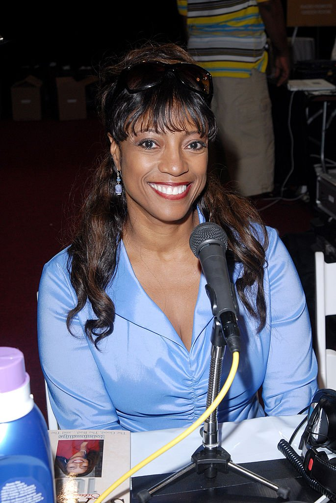 BernNadette Stanis during 6th Annual BET Awards - Radio Remote Room - Day 1 at Shrine Auditorium in Los Angeles, CA, United States. | Getty Images