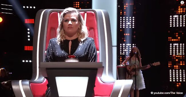 Kelly Clarkson Hits the Button after Just One Note from a Young Girl, and Her Voice Is Charming