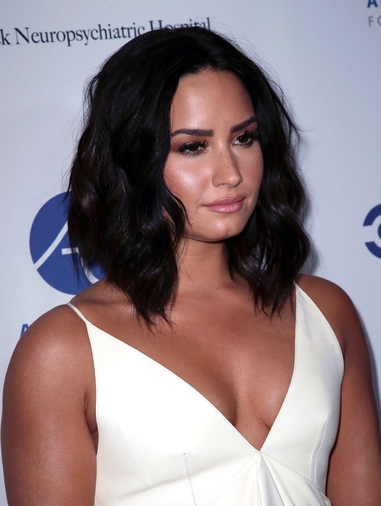 "Demi Lovato à ""Open Mind Gala"" en 2017. Photo : Getty Images"