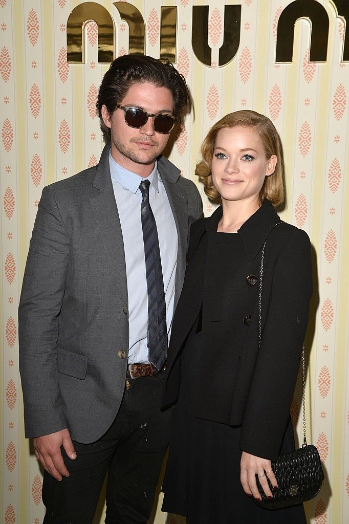 Jane Levy and Thomas McDonell attend the Miu Miu show as part of the Paris Fashion Week Womenswear Fall/Winter 2015/2016 on March 11, 2015 in Paris, France   Photo: Getty Images