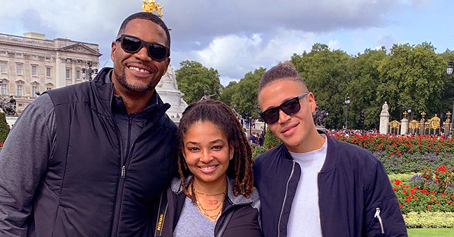 Michael Strahan Shares Throwback Photos from London Vacation with His Daughter and Nephew