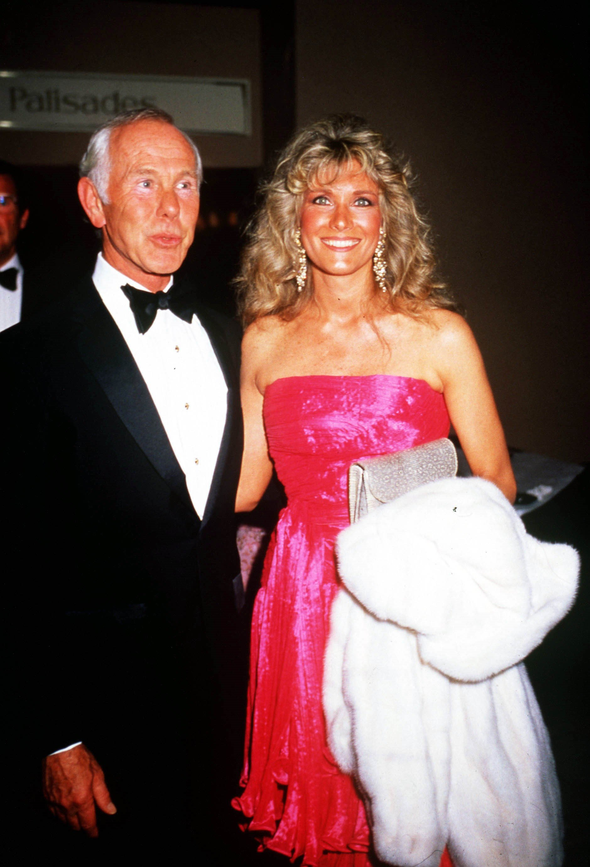 Johnny Carson And Wife Alexis Maas, 1990 | Photo: GettyImages