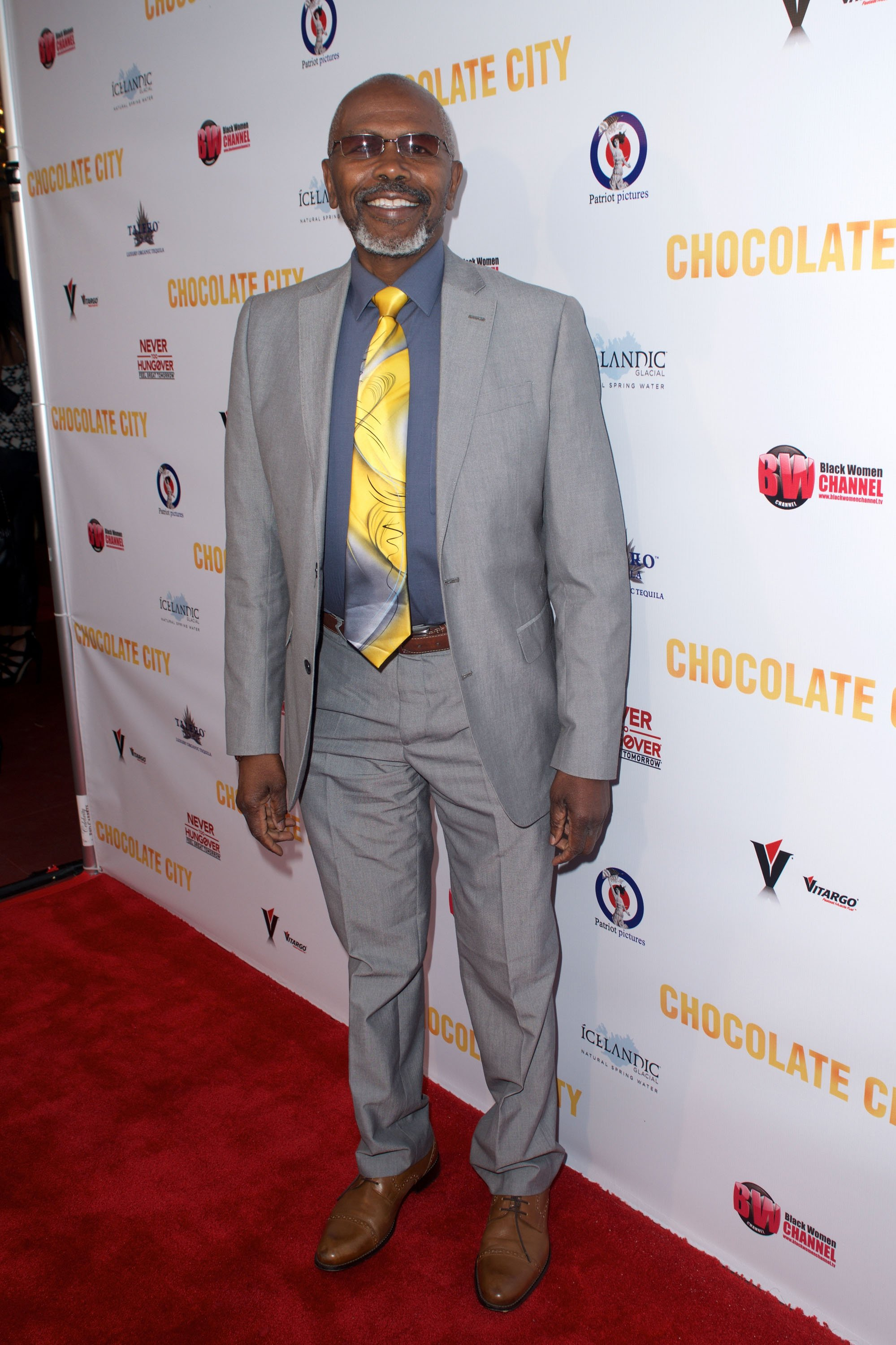"Actor Ernest Lee Thomas attends ""Chocolate City"" movie premiere at Crest Theatre on May 21, 2015 