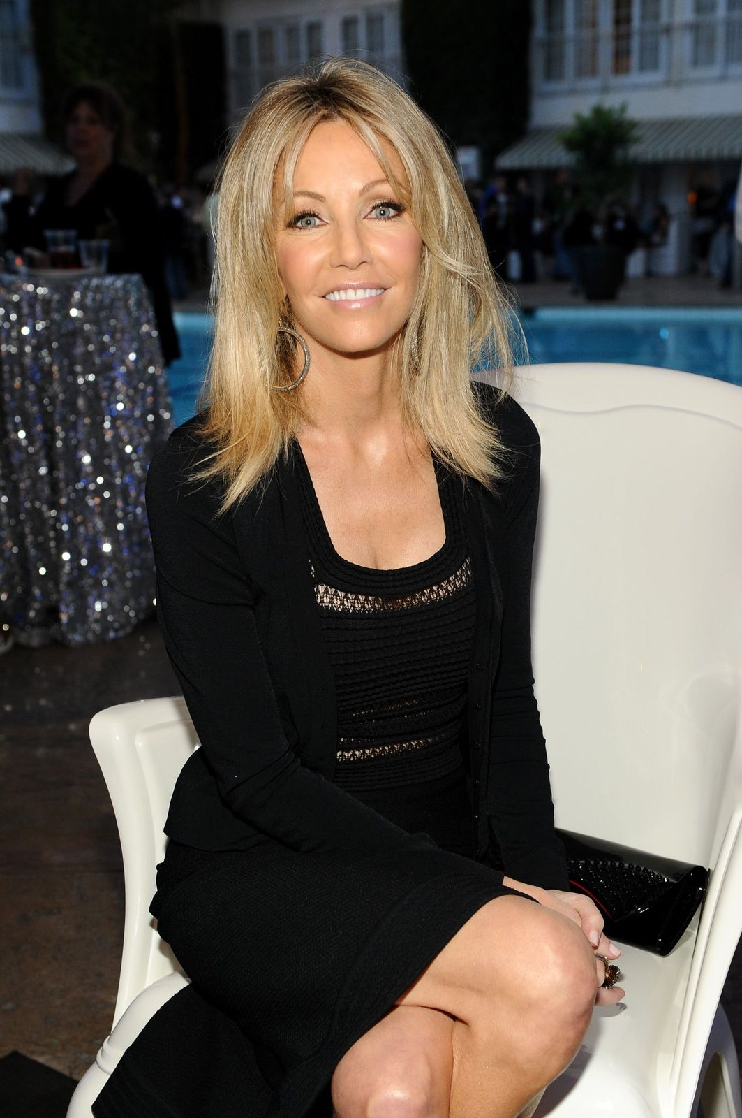 Heather Locklear at TNT 25TH Anniversary Party during Turner Broadcasting's 2013 TCA Summer Tour at The Beverly Hilton Hotel on July 24, 2013 | Photo: Getty Images