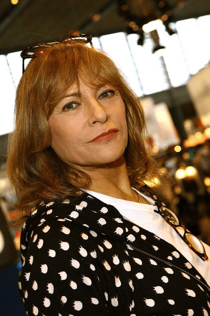 "Nathalie Delon au ""Salon du Livre"" 2007. 