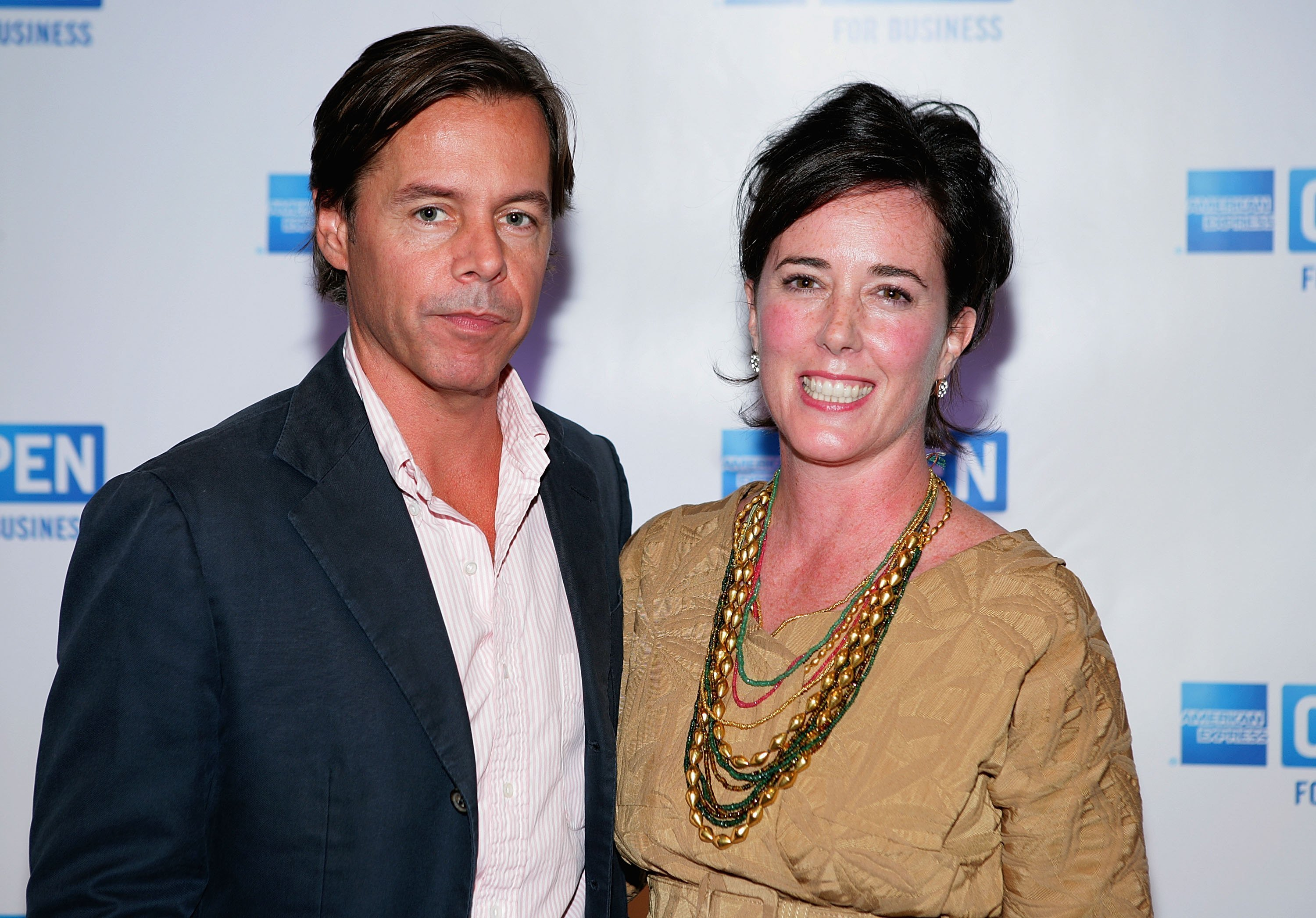 """Andy Spade and Kate Spade attend American Express' """"Making a Name for Yourself"""" at Nokia Theater July 27, 2006. 