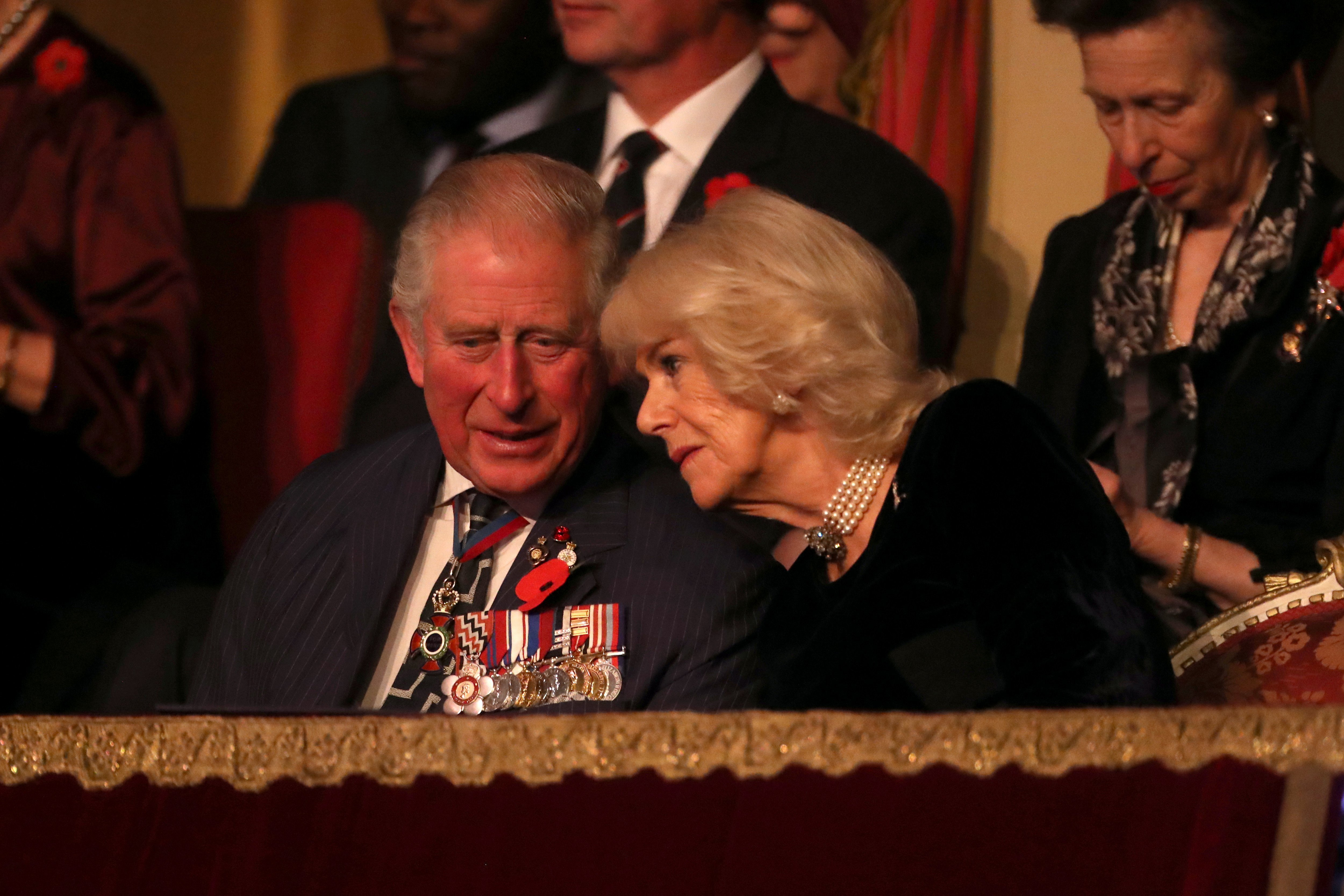 Prince Charles, Prince of Wales and Camilla, Duchess of Cornwall attend the annual Royal British Legion Festival of Remembrance at the Royal Albert Hall on November 09, 2019 | Photo: GettyImages