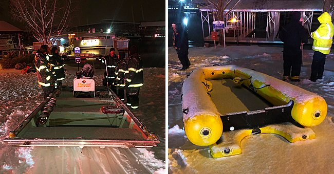 12 Tennesseans Were Rescued from Sinking Boats after a Dock Was Crushed Due to the Winter Storm