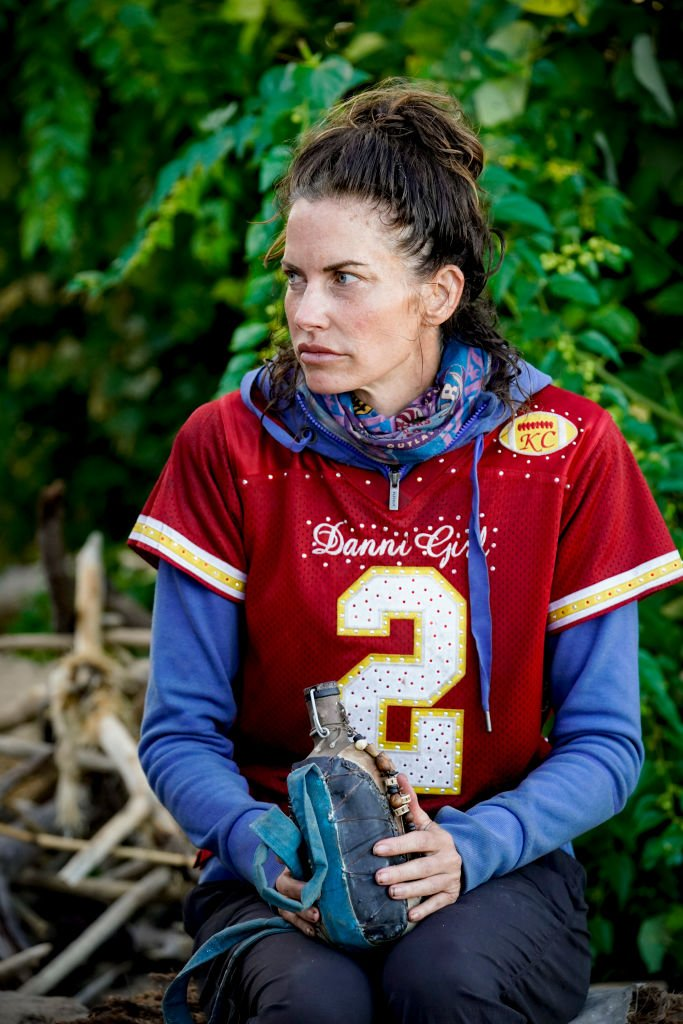 Danni Boatwright on the Seventh episode of SURVIVOR: WINNERS AT WAR, on the CBS Television Network.   Photo: Getty Images