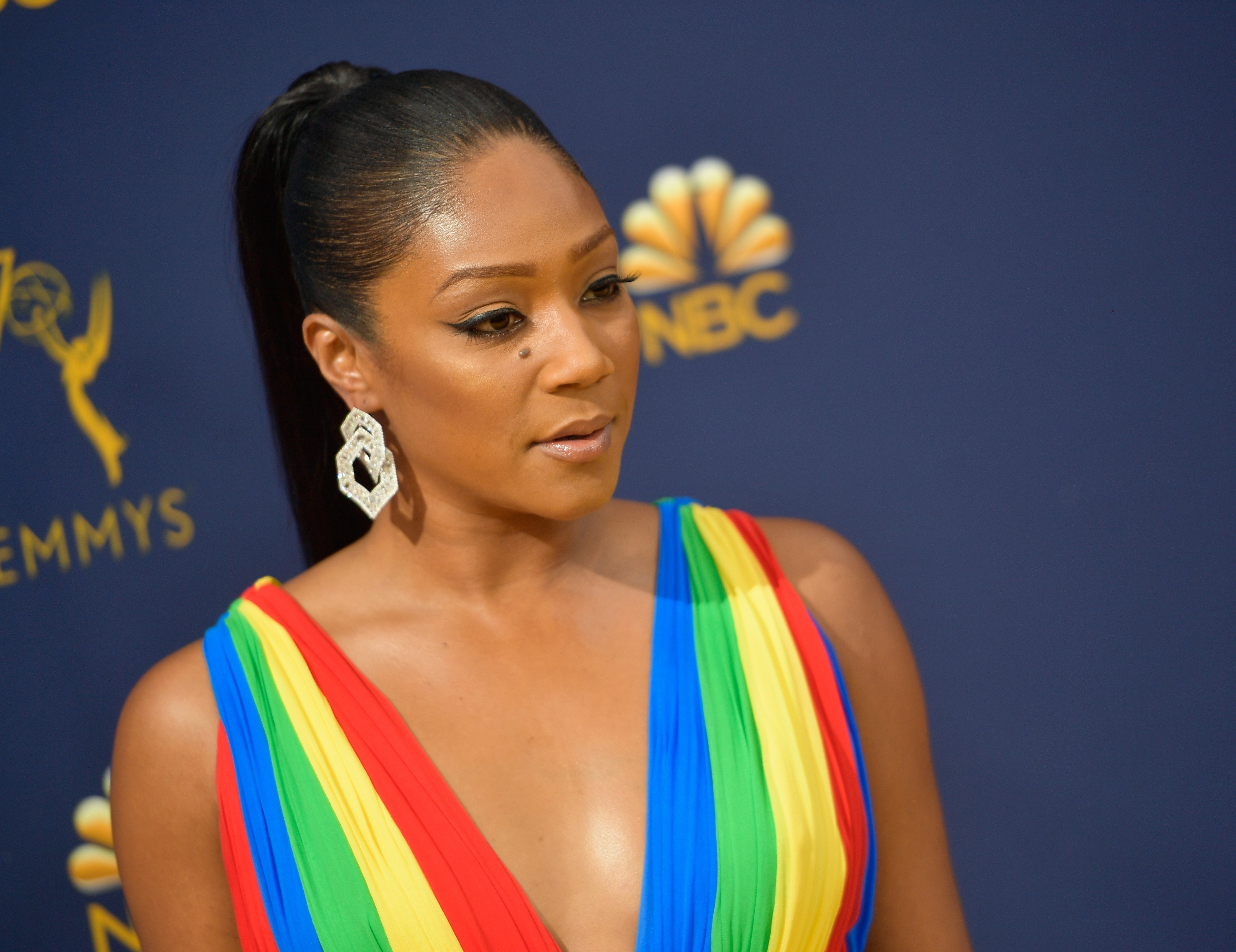 Tiffany Haddish at the 70th Emmy Awards on September 17, 2018 in Los Angeles, California. | Source: Getty Images