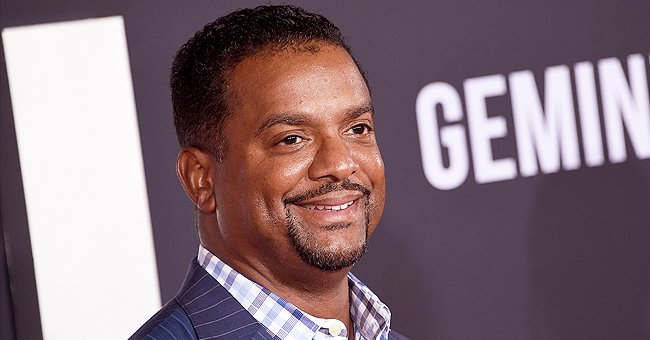 Alfonso Ribeiro's 3 Kids Glow with Happiness during His Eldest Son AJ's 7th Birthday Party
