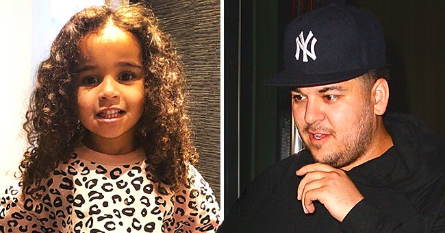 E! Online: Rob Kardashian Wants to Be an Outstanding Dad to His 4-Year-Old Daughter Dream