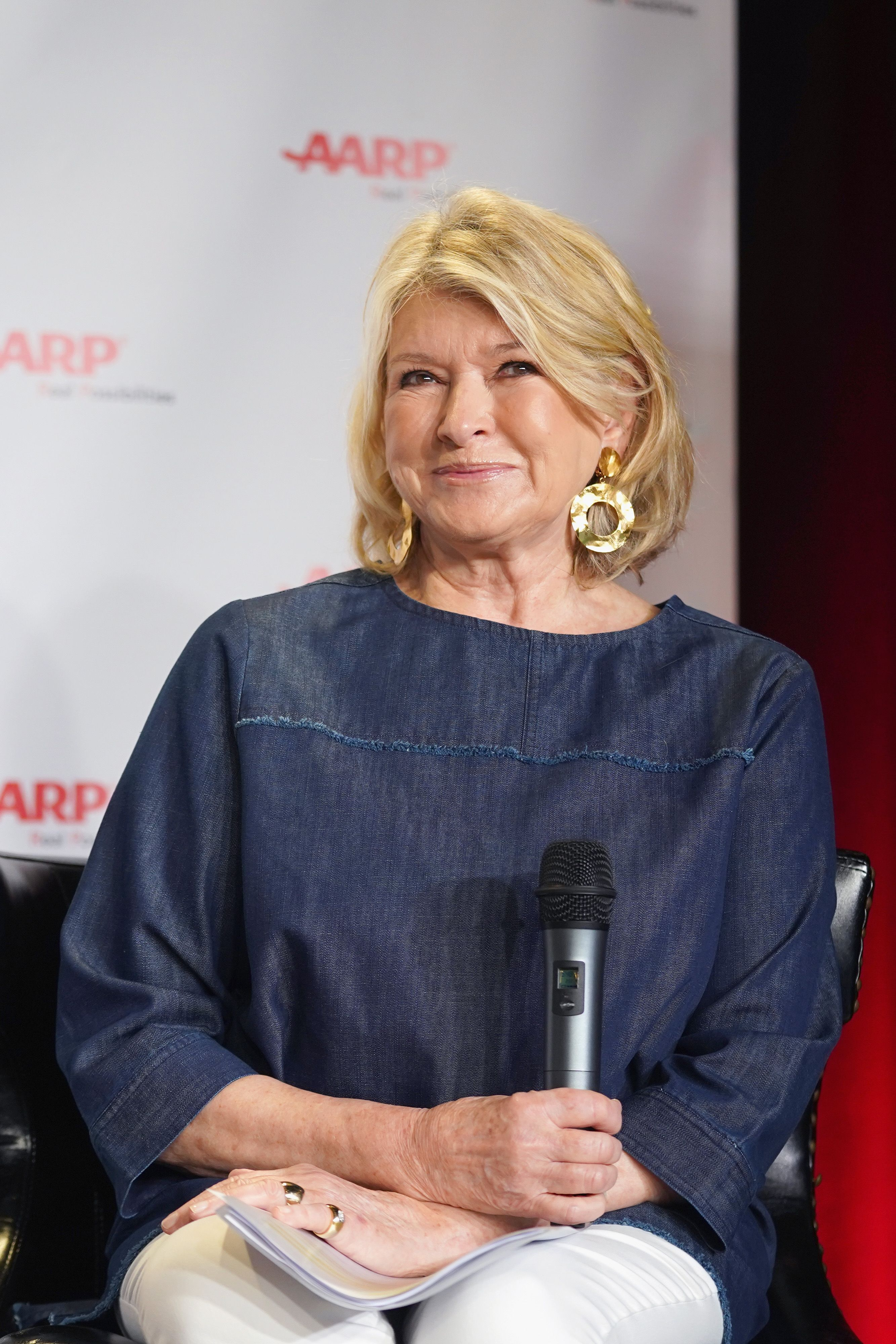 Martha Stewart speaks onstage at Fully Baked: Martha Stewart during the SXSW Conference and Festivals on March 11, 2019, in Austin, Texas | Photo: Amy E. Price/Getty Images