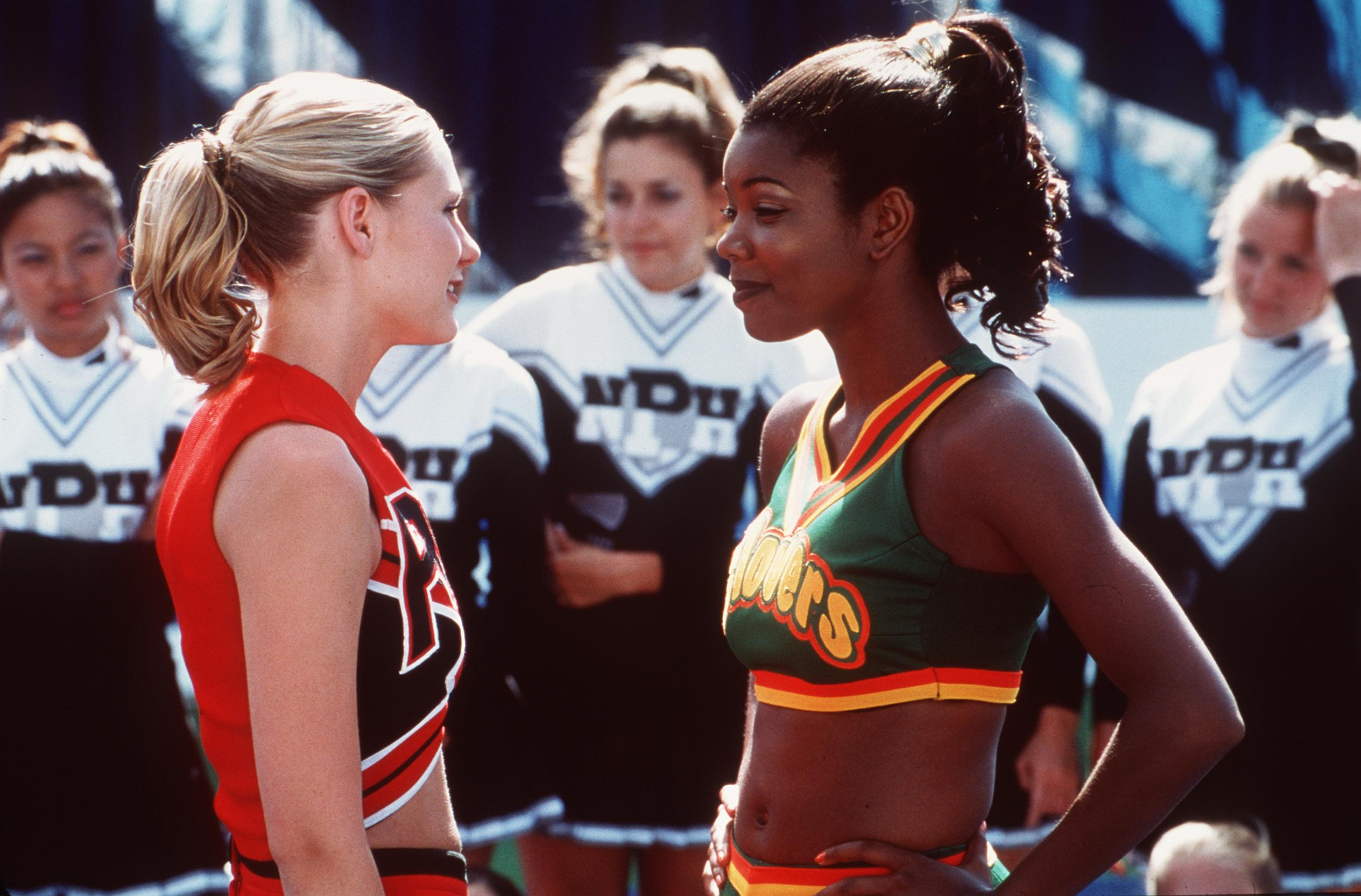 "A clip from the ""Bring It On"" movie starring Kirsten Dunst and Gabrielle Union. 