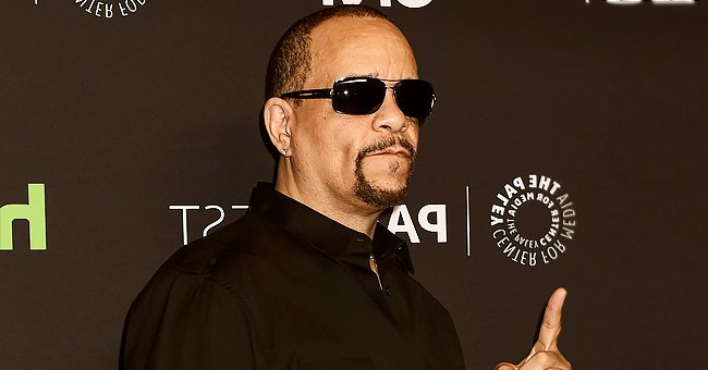 Ice-T's Wife Coco Stuns in Rose Print Jumpsuit Posing with Daughter Chanel Wearing a Pink Shirt