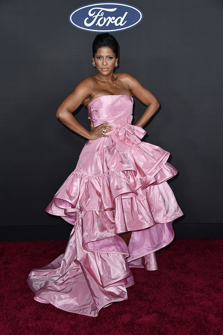 Tamron Hall attends the 51st NAACP Image Awards presented by BET at Pasadena Civic Auditorium on February 22, 2020 in Pasadena, California. I Image: Getty Images.