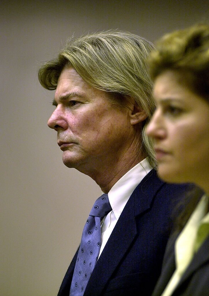 Jan-Michael Vincent in court | Photo: Getty Images