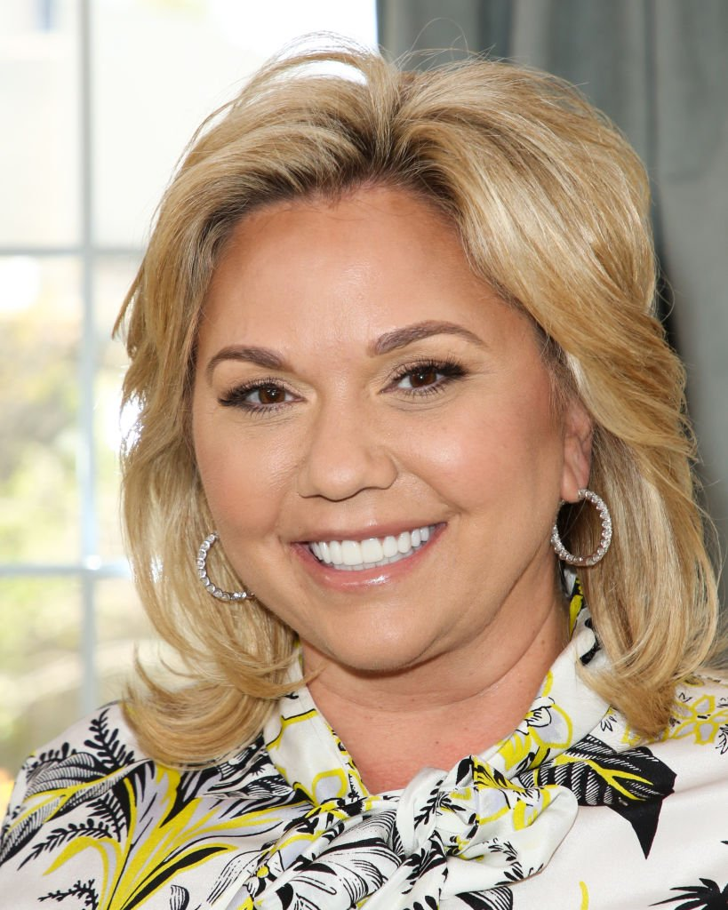 """Julie Chrisley visit Hallmark's """"Home & Family"""" at Universal Studios Hollywood on June 18, 2018 