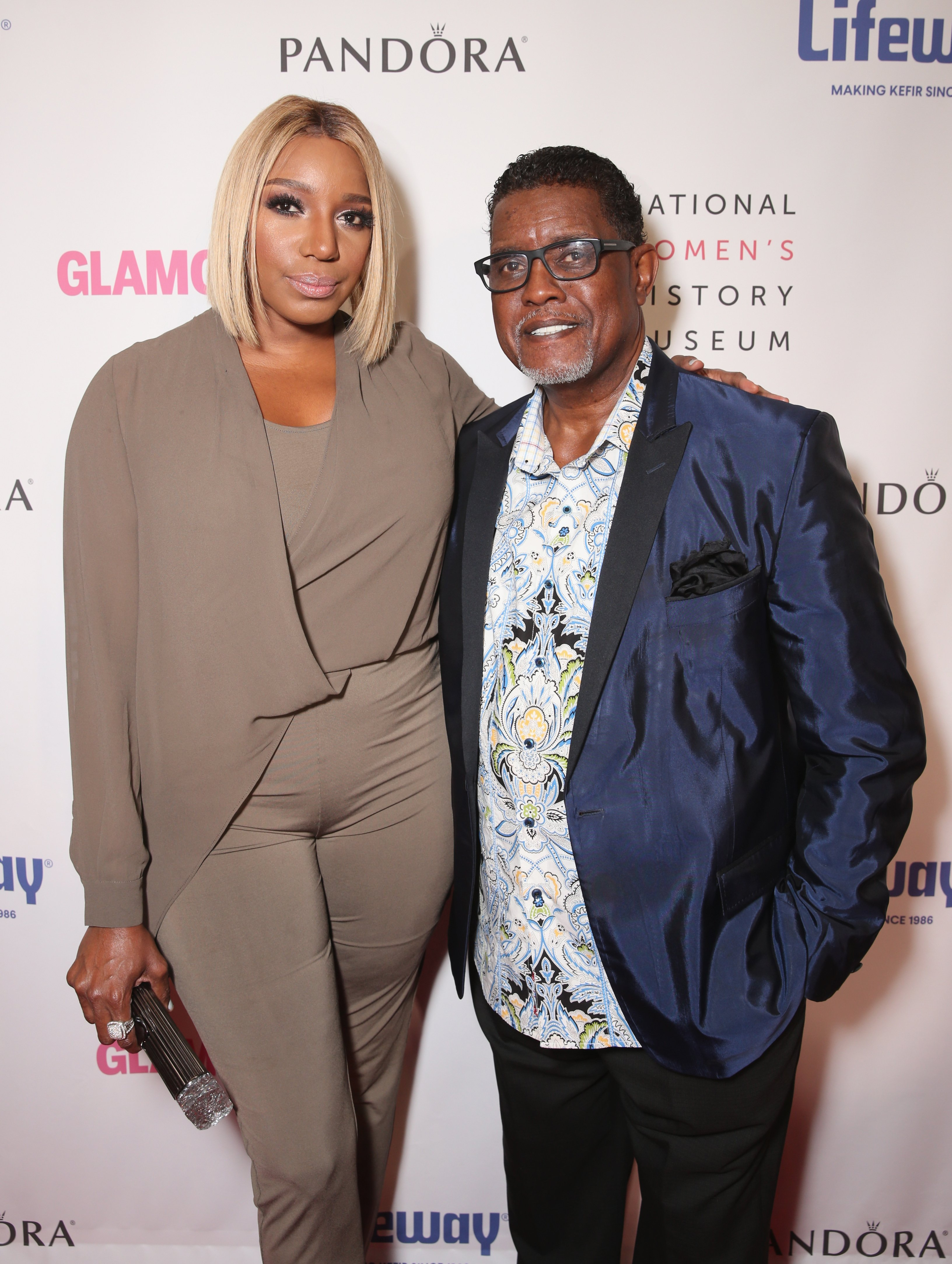 NeNe Leakes and Gregg Leakes attend the National Women's History Museum 5th Annual Women Making History Brunch presented by Glamour and Lifeway Foods at Montage Beverly Hills on September 17, 2016 | Photo: GettyImages