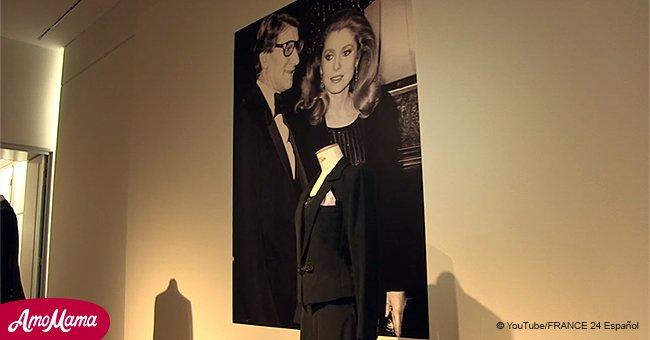 Catherine Deneuve a mis aux enchères sa collection personnelle YSL, rapportant plus d'un million de dollars