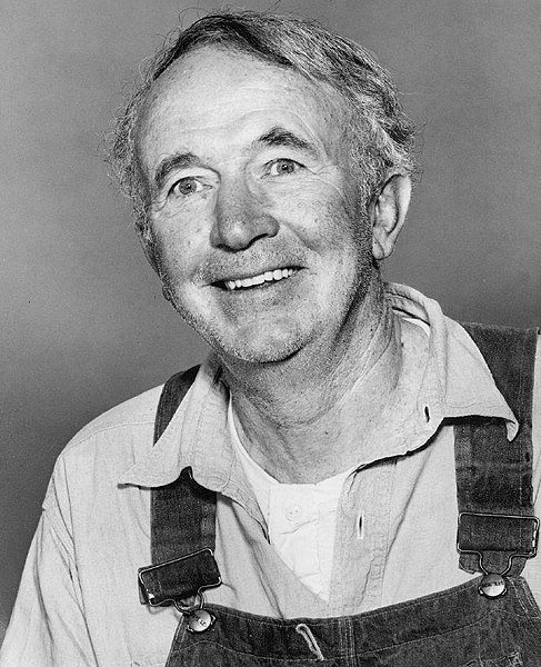 "Walter Brennan as Amos McCoy from the television program ""The Real McCoys."" 