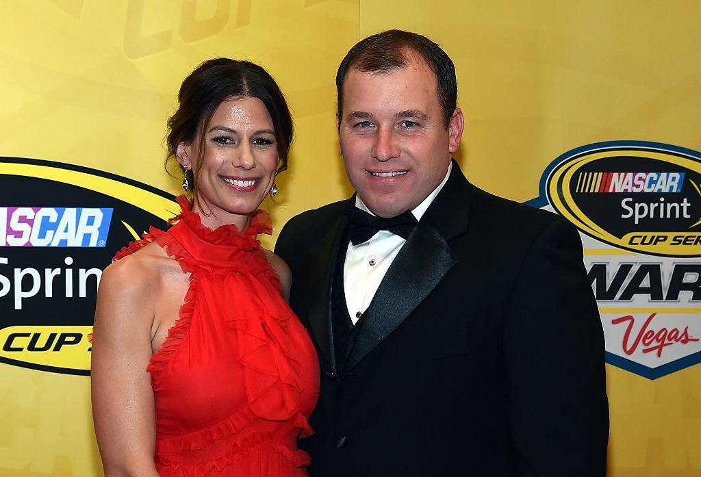 Krissie Newman and Ryan Newman arrive at the 2015 NASCAR Sprint Cup Series Awards at Wynn Las Vegas on December 4, 2015, in Las Vegas, Nevada   Source: Ethan Miller/Getty Images