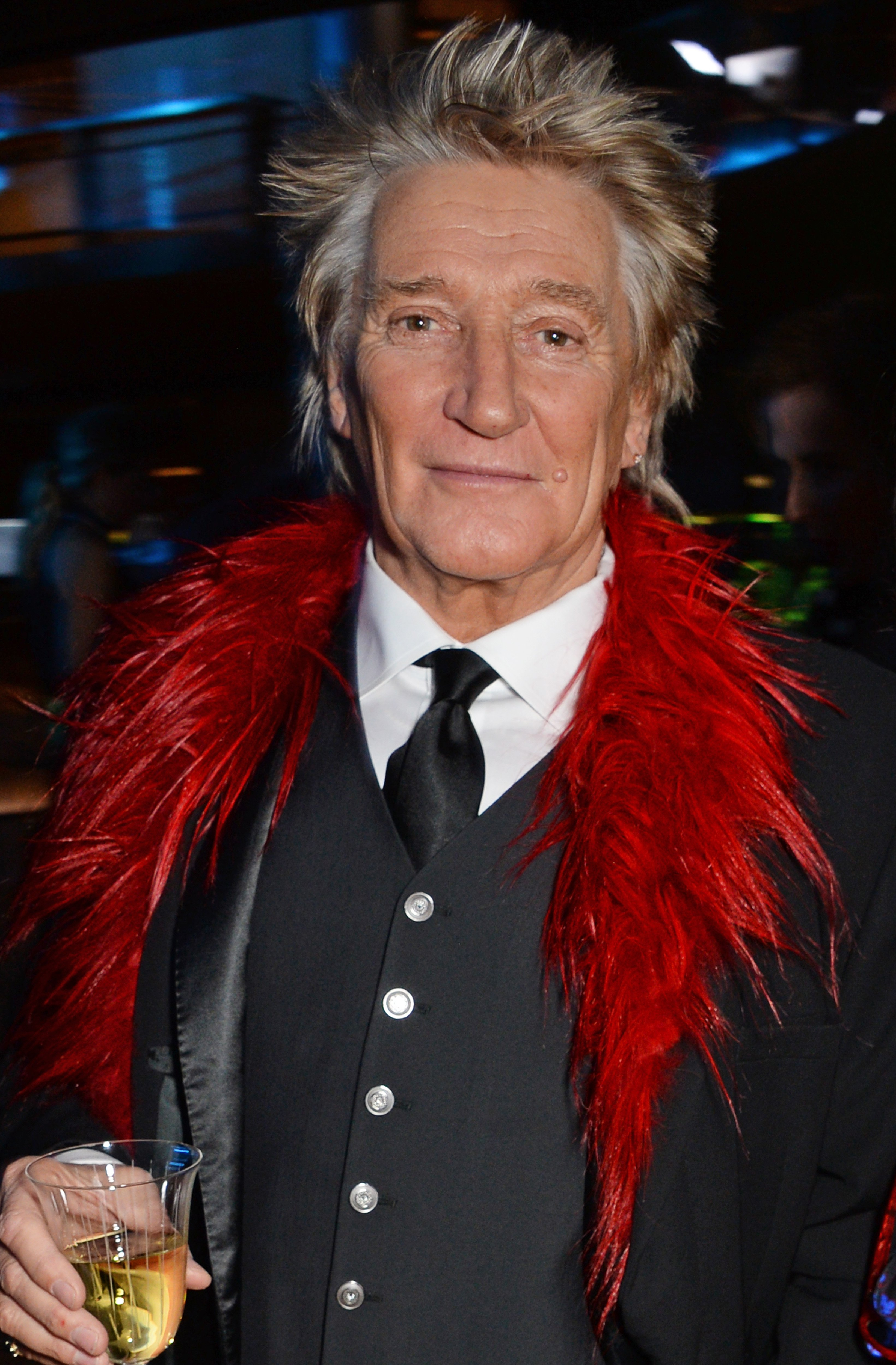 Sir Rod Stewart attends the Bloomberg x Vanity Fair Climate Exchange gala dinner 2018 at Bloomberg London on December 11, 2018 | Photo: GettyImages