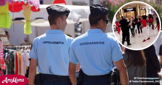 Les gendarmes promettent de danser au stade Geoffroy-Guichard, à condition que les utilisateurs jouent le jeu