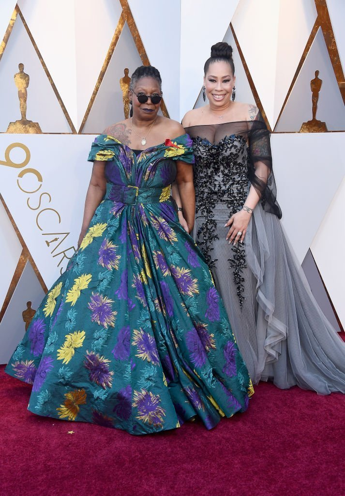 Whoopi Goldberg (L) and Alex Martin attend the 90th Annual Academy Awards at Hollywood & Highland Center | Photo: Getty Images