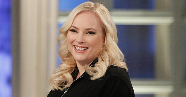 Meghan McCain Celebrates Whoopi Goldberg's Birthday with Throwback Pic Posing with Her Late Dad