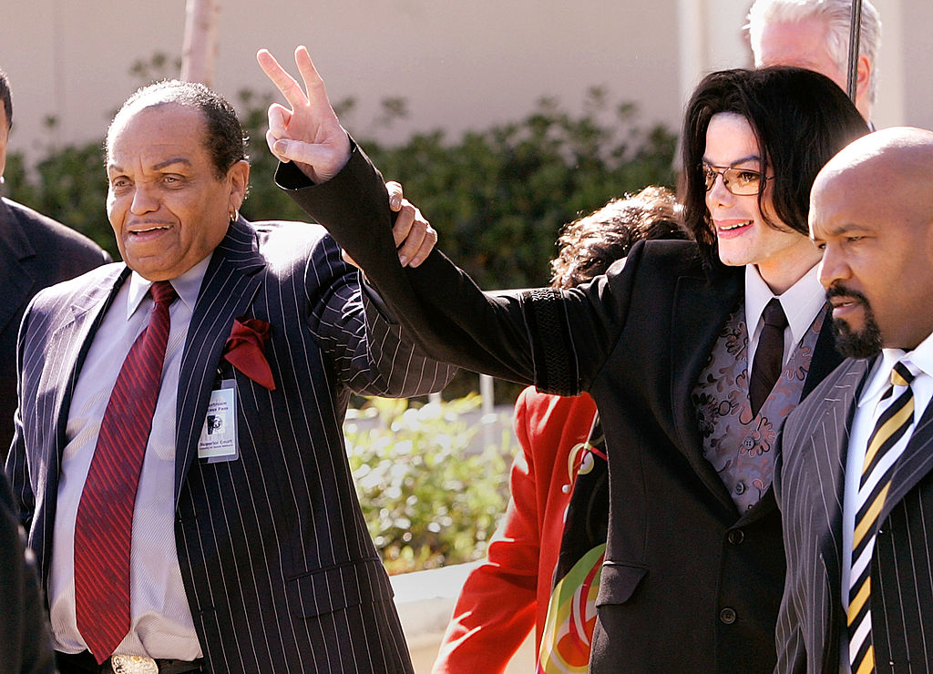 Joe and Michael Jackson. Image Credit: Getty Images